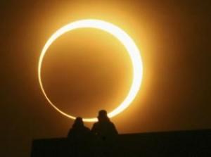 Солнечное кольцевое затмение