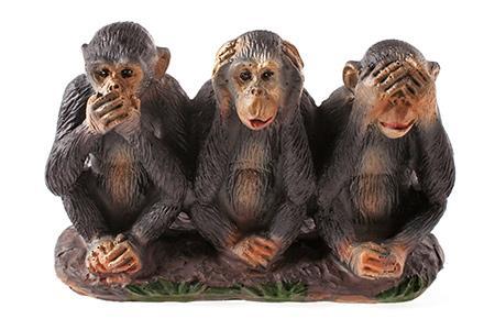 Сувенир три обезьянки